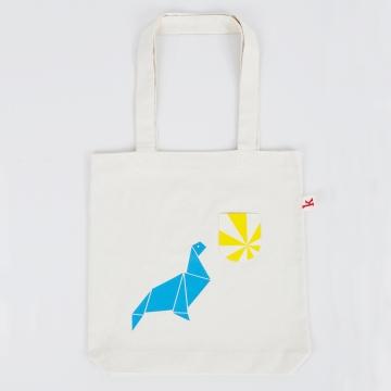 Tier-Tasche Seehund Vorne