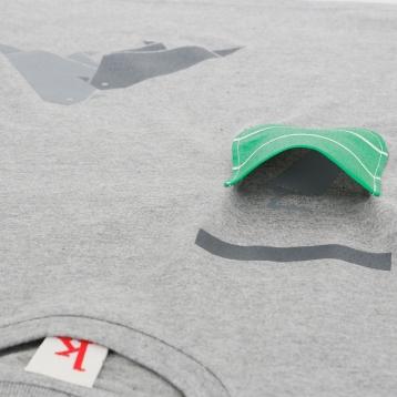 Tauben Tier-Shirt Versteckter Druck