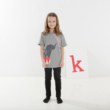 Elefant Tier-Shirt Mädchen